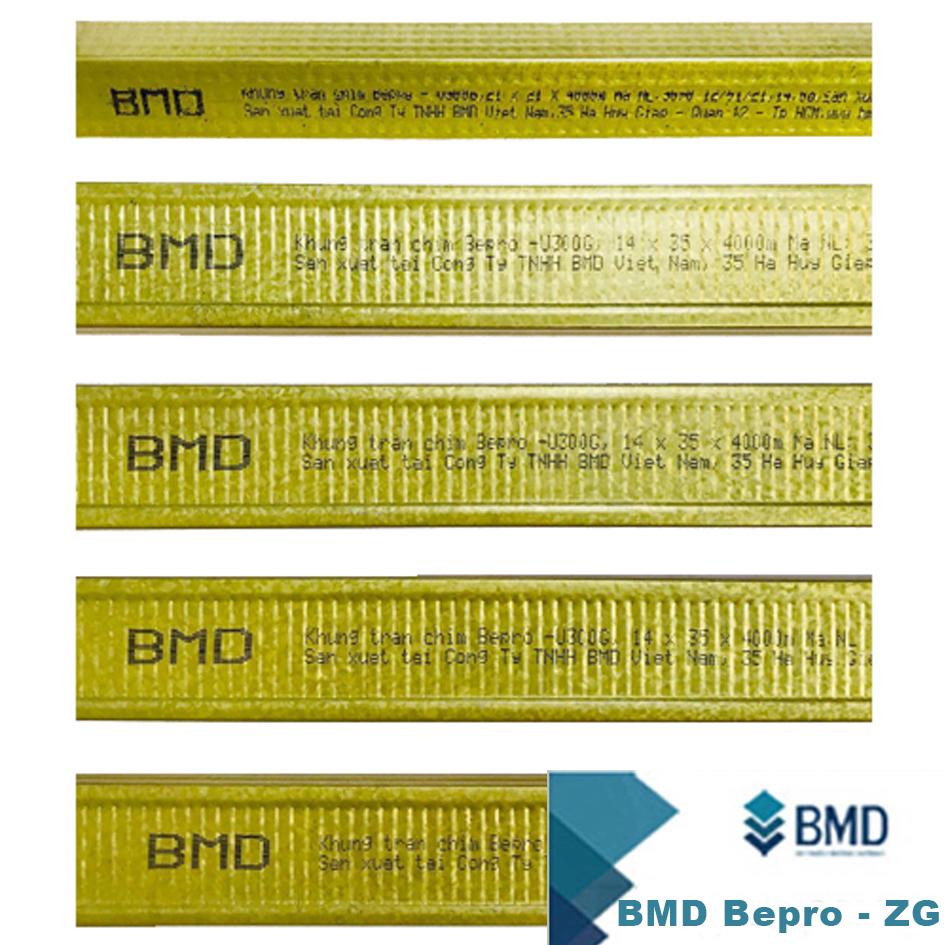 Hệ khung trần chìm BMD Bepro - ZG