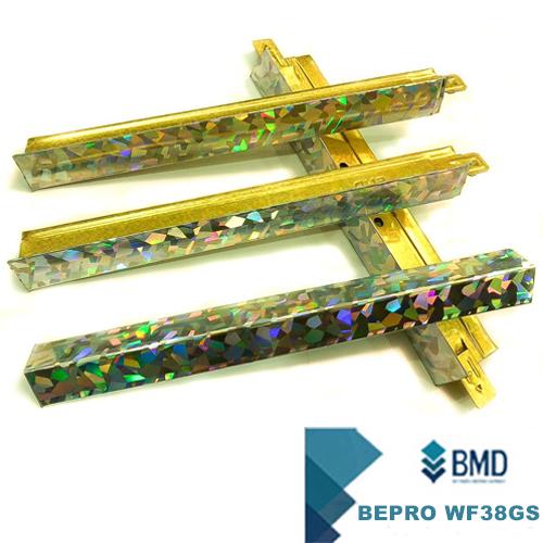 Hệ khung trần nổi BMD BEPRO WF38GS mẫu ánh kim